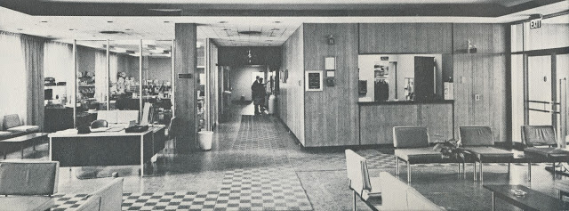 Columbia lobby c 1960