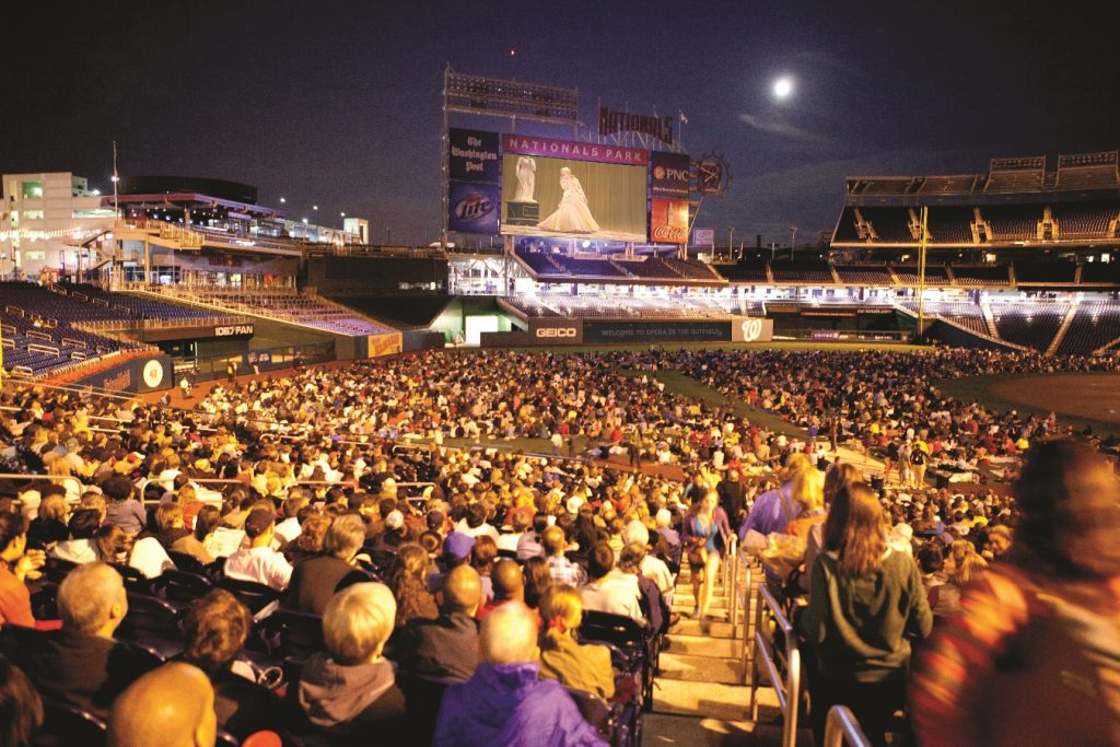 WNO Opera in the Outfield - September 24 at Nats Park - photo Scott Suchman