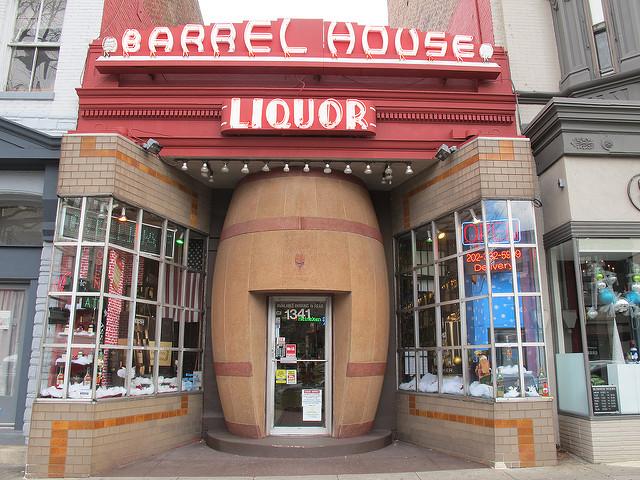 barrel-house