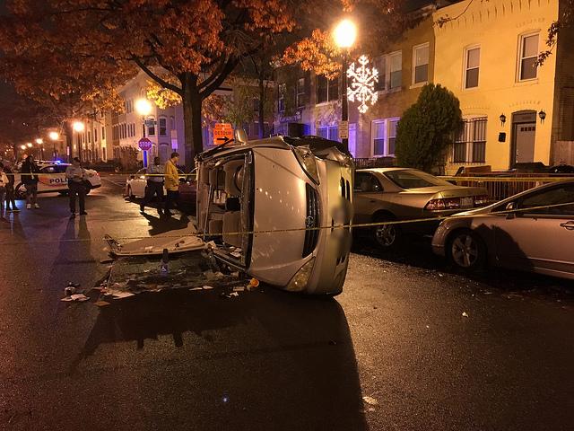 car-flipped