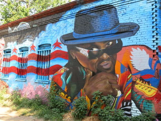 mca and chuck brown again murals mostly gone from