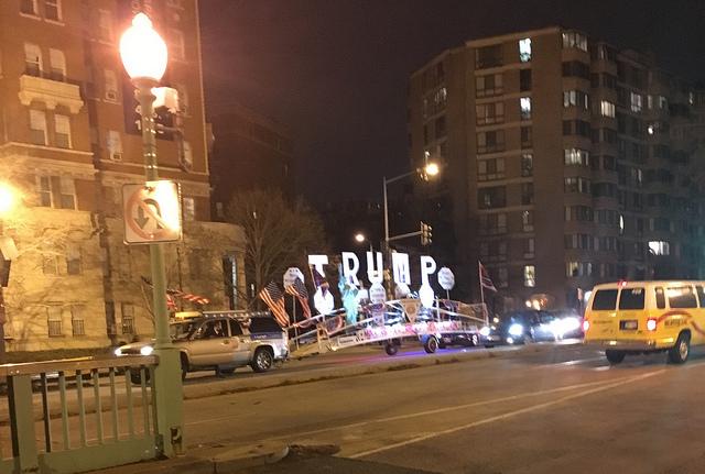 trumpmobile crash