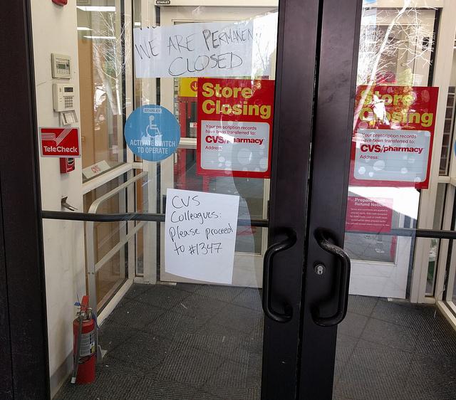 cvs closed