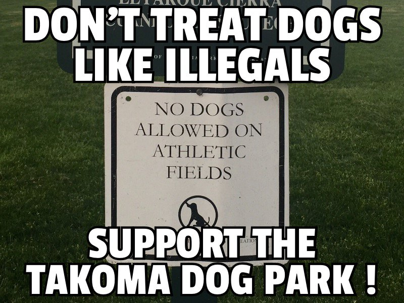 dog park illegal