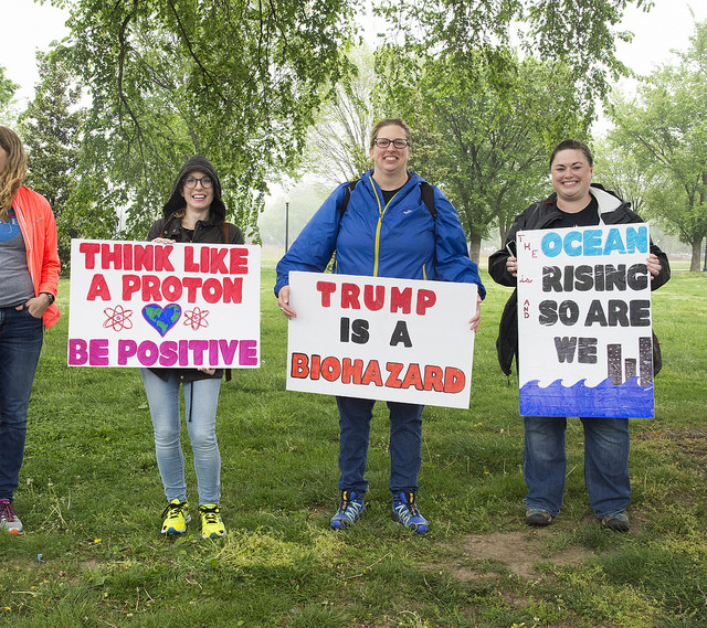 hosting marchers