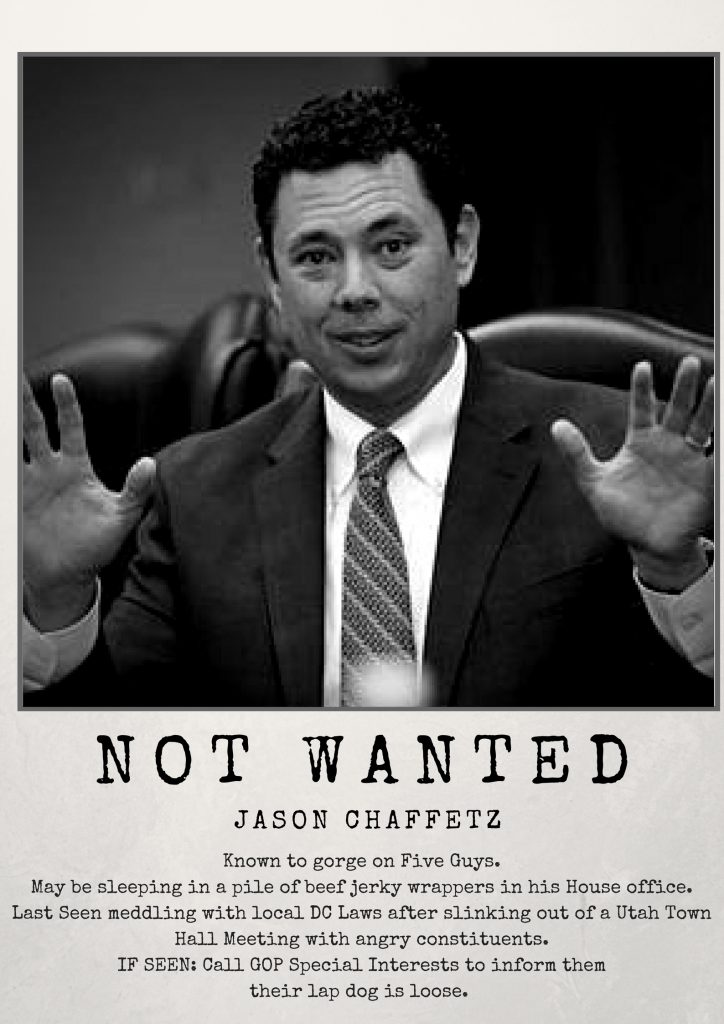 not wanted chaffetz