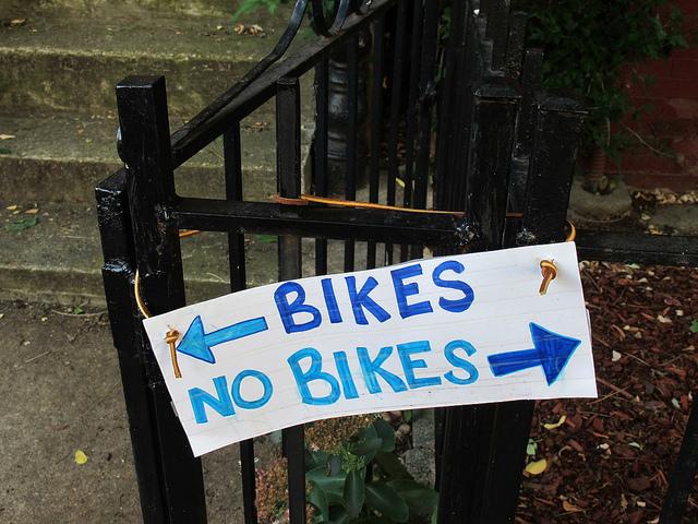 bikes no bikes