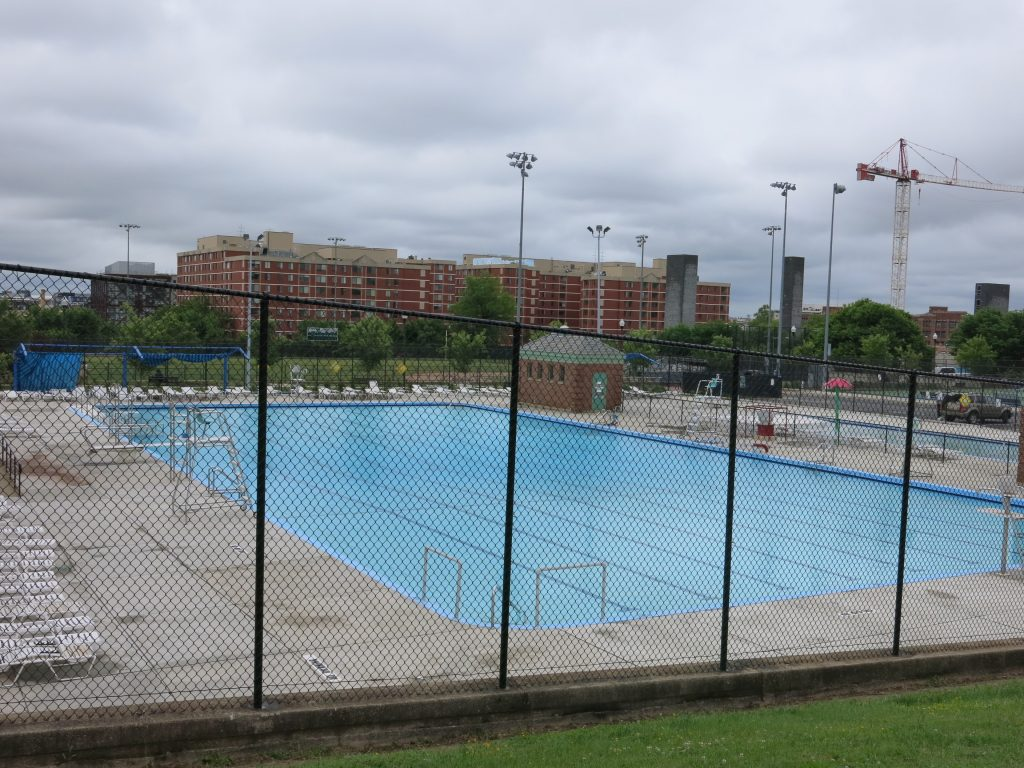 Popville Banneker Pool Has Become Almost Impossible To Get Into For Recreational Lap Swimming