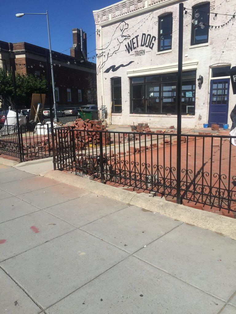 Wet Dog Tavern Getting New Brick Patio Out Front U2013 What The Early Word On  Them?