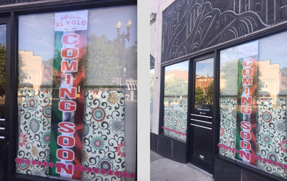 Cucina Al Volo coming to the former Ripple space in Cleveland Park ...