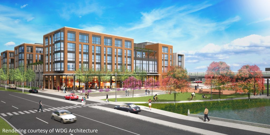 premier mixed use residential and retail project coming next to the college park metro station. Black Bedroom Furniture Sets. Home Design Ideas