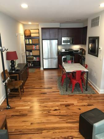 One bedroom ground floor with an amazing layout and lots of light in the  heart of U Street. Steps to all that 14th street has to offer, but tucked  on a ...